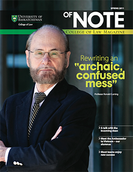 of NOTE - Spring 2011